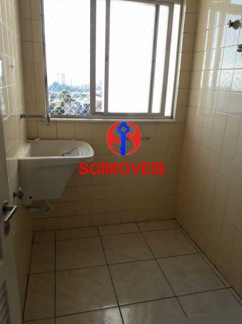 ar - Apartamento 2 quartos à venda Rio Comprido, Rio de Janeiro - R$ 350.000 - TJAP20743 - 23