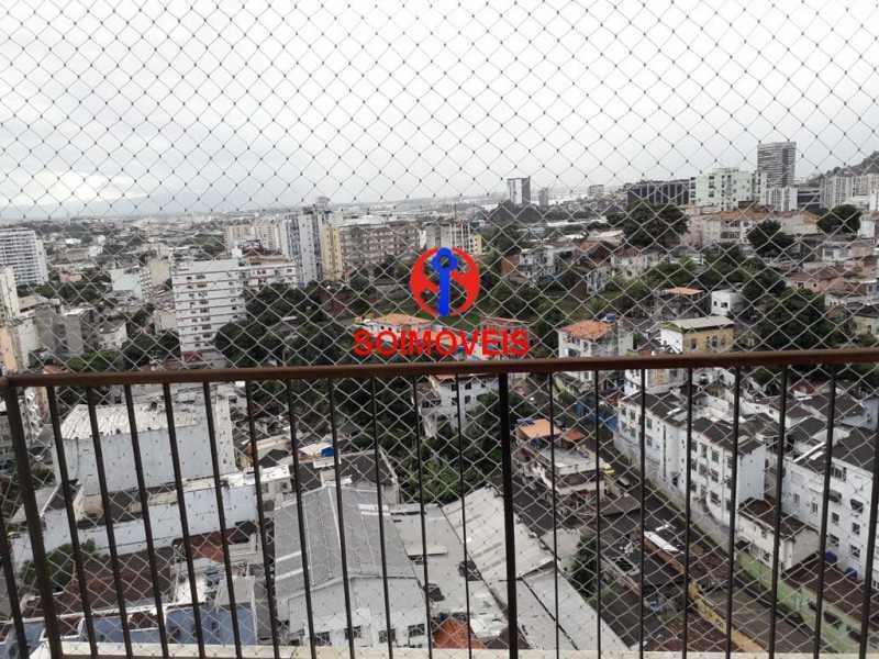 var - Apartamento 2 quartos à venda Rio Comprido, Rio de Janeiro - R$ 350.000 - TJAP20743 - 12