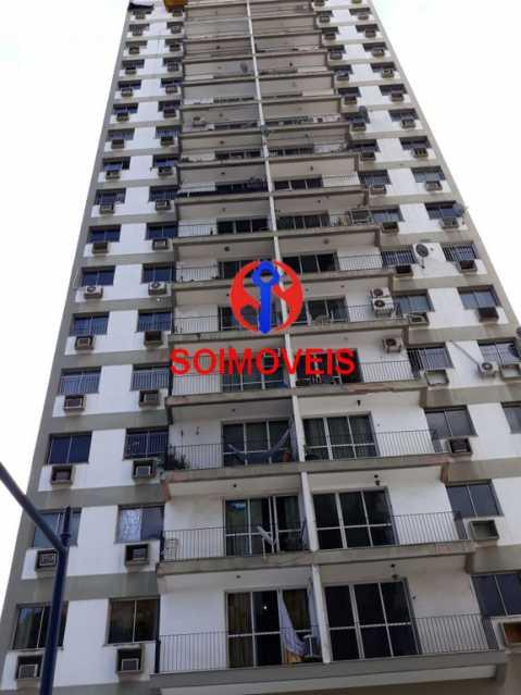 fac - Apartamento 2 quartos à venda Rio Comprido, Rio de Janeiro - R$ 350.000 - TJAP20743 - 1