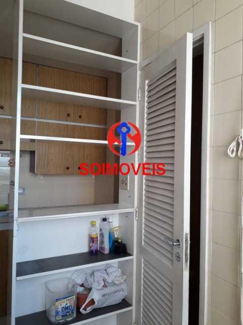 dep - Apartamento 2 quartos à venda Rio Comprido, Rio de Janeiro - R$ 350.000 - TJAP20743 - 25