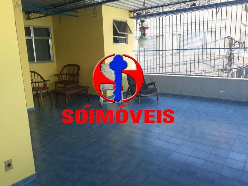 TERRAÇO  - Casa em Condomínio 4 quartos à venda Tijuca, Rio de Janeiro - R$ 700.000 - TJCN40004 - 18
