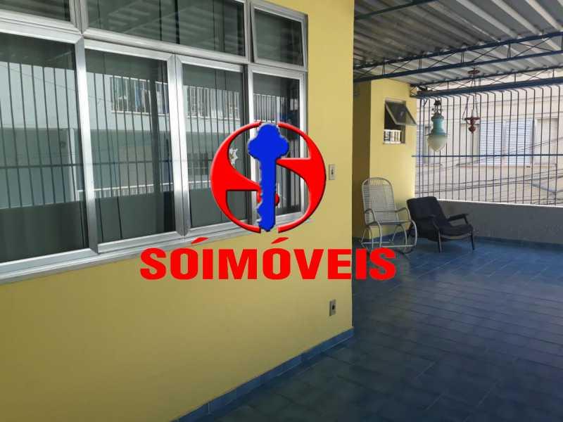 TERRAÇO  - Casa em Condomínio 4 quartos à venda Tijuca, Rio de Janeiro - R$ 700.000 - TJCN40004 - 19