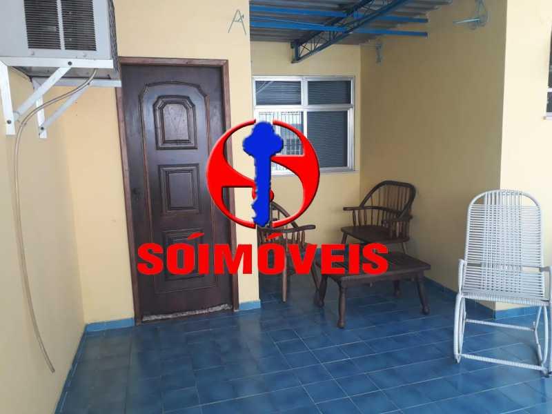 TERRAÇO - Casa em Condomínio 4 quartos à venda Tijuca, Rio de Janeiro - R$ 700.000 - TJCN40004 - 20