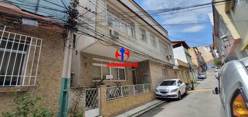 FACHADA - Casa de Vila 4 quartos à venda Méier, Rio de Janeiro - R$ 620.000 - TJCV40008 - 1