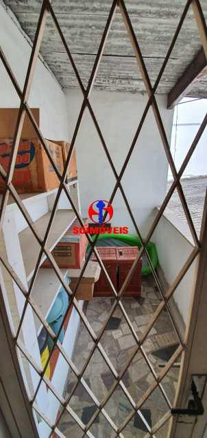 VARANDA QUARTO 2 - Casa de Vila 4 quartos à venda Méier, Rio de Janeiro - R$ 620.000 - TJCV40008 - 18