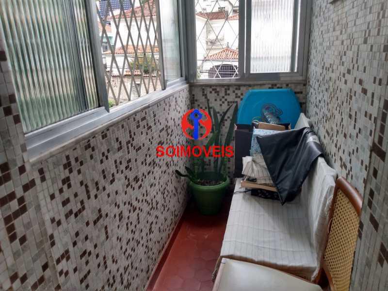 var - Apartamento 2 quartos à venda Vila Isabel, Rio de Janeiro - R$ 250.000 - TJAP20773 - 4