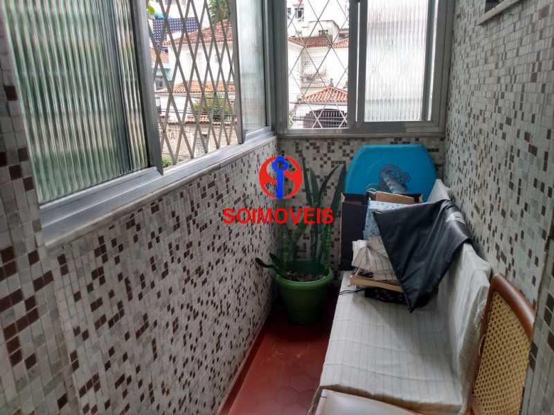 var - Apartamento 2 quartos à venda Vila Isabel, Rio de Janeiro - R$ 250.000 - TJAP20773 - 5
