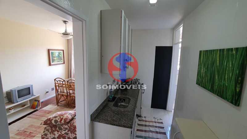 COZINHA E SALA - Apartamento 2 quartos à venda Cidade Nova, Rio de Janeiro - R$ 375.000 - TJAP20810 - 6