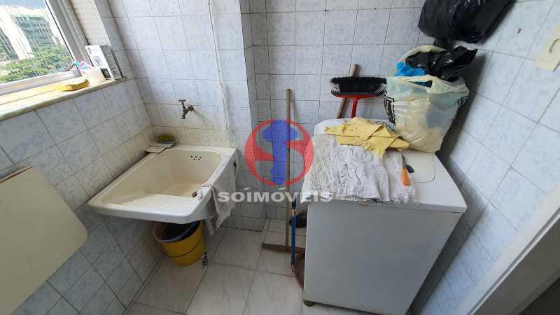 ÁREA DE SERVIÇO - Apartamento 2 quartos à venda Cidade Nova, Rio de Janeiro - R$ 375.000 - TJAP20810 - 12
