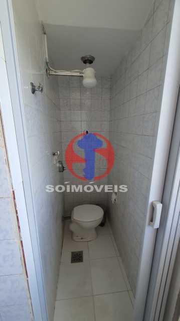 BANHEIRO DE SERVIÇO - Apartamento 2 quartos à venda Cidade Nova, Rio de Janeiro - R$ 375.000 - TJAP20810 - 15