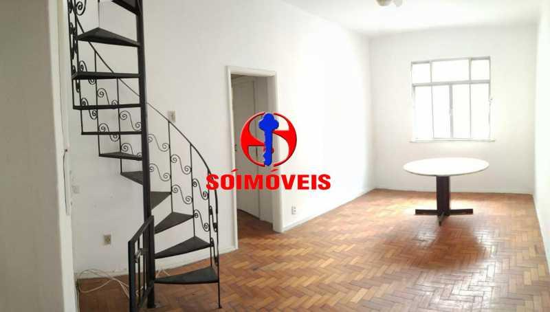 SALA - Apartamento 3 quartos à venda Praça da Bandeira, Rio de Janeiro - R$ 400.000 - TJAP30356 - 1