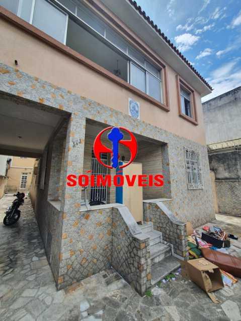 FACHADA - Casa 7 quartos à venda Engenho Novo, Rio de Janeiro - R$ 500.000 - TJCA70002 - 1
