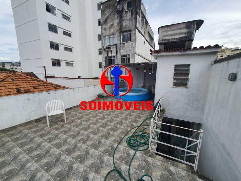 TERRAÇO - Casa 7 quartos à venda Engenho Novo, Rio de Janeiro - R$ 500.000 - TJCA70002 - 29