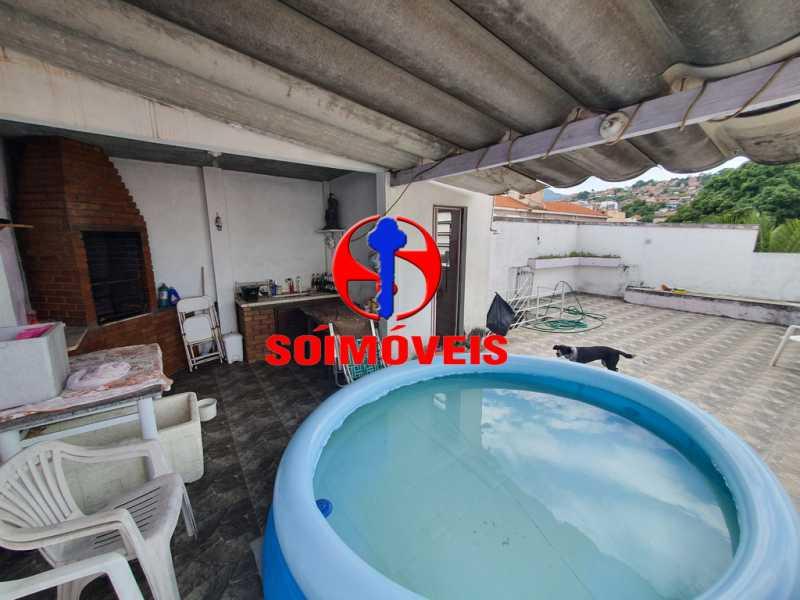 TERRAÇO - Casa 7 quartos à venda Engenho Novo, Rio de Janeiro - R$ 500.000 - TJCA70002 - 30