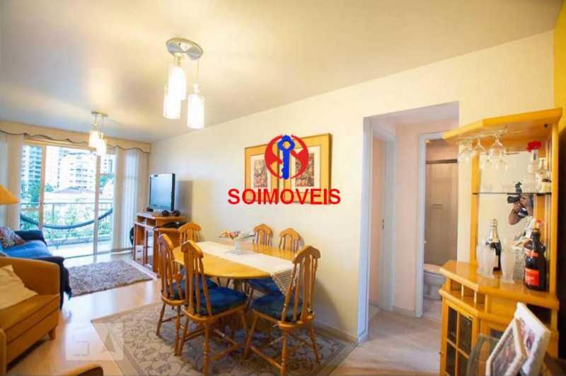 sl - Apartamento 2 quartos à venda Grajaú, Rio de Janeiro - R$ 378.000 - TJAP20861 - 3