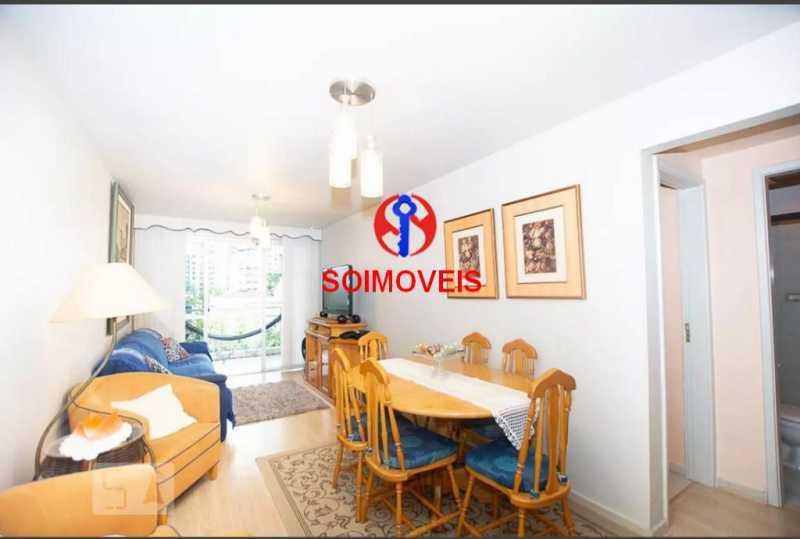 sl - Apartamento 2 quartos à venda Grajaú, Rio de Janeiro - R$ 378.000 - TJAP20861 - 1