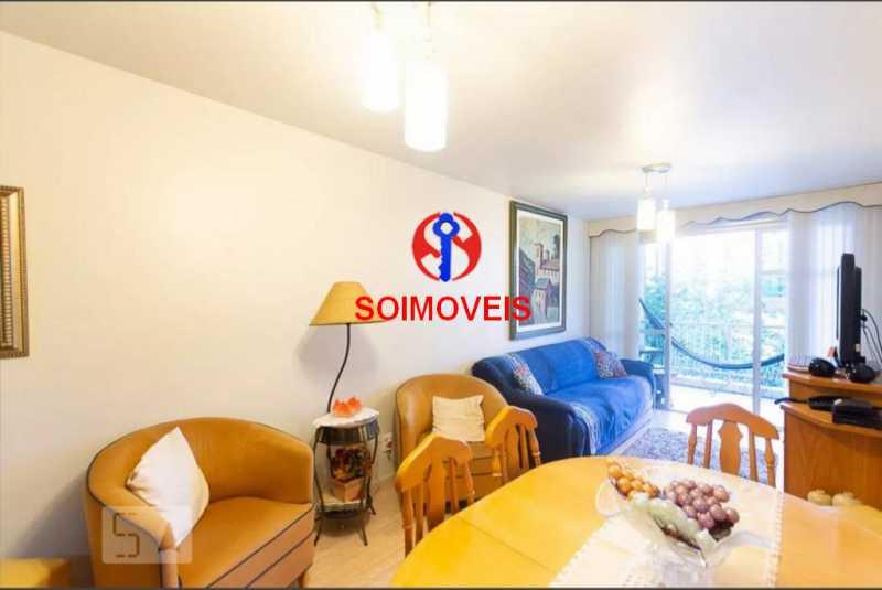 sl - Apartamento 2 quartos à venda Grajaú, Rio de Janeiro - R$ 378.000 - TJAP20861 - 4