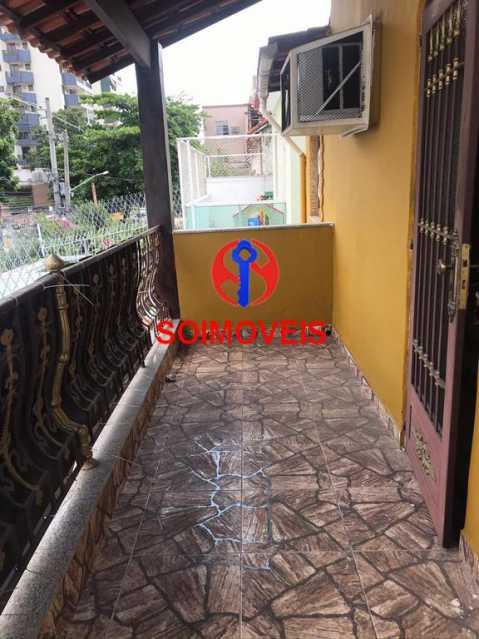 Varanda - Casa 5 quartos à venda Cachambi, Rio de Janeiro - R$ 850.000 - TJCA50007 - 22