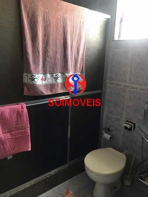 Banheiro social - Casa 5 quartos à venda Cachambi, Rio de Janeiro - R$ 850.000 - TJCA50007 - 18
