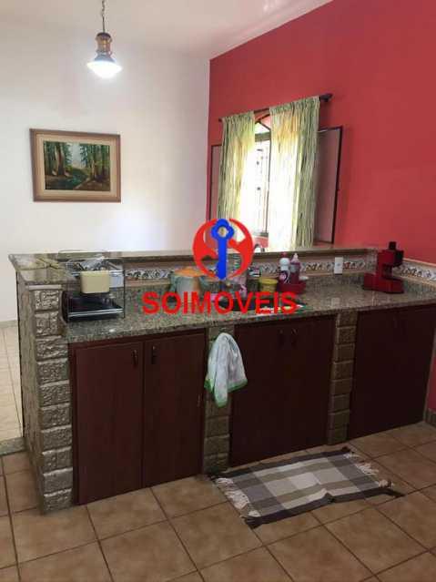 Copa-cozinha - Casa 5 quartos à venda Cachambi, Rio de Janeiro - R$ 850.000 - TJCA50007 - 14