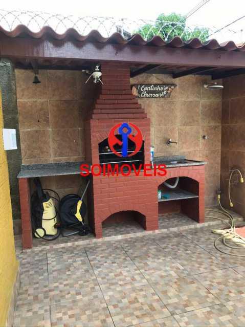 Churrasqueira - Casa 5 quartos à venda Cachambi, Rio de Janeiro - R$ 850.000 - TJCA50007 - 28