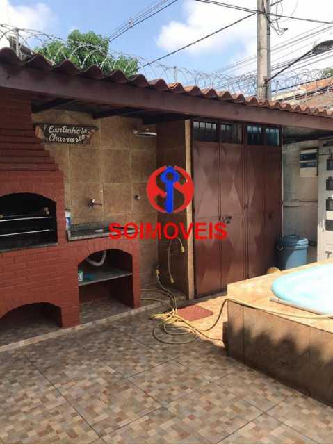 Churrasqueira/Piscina - Casa 5 quartos à venda Cachambi, Rio de Janeiro - R$ 850.000 - TJCA50007 - 29