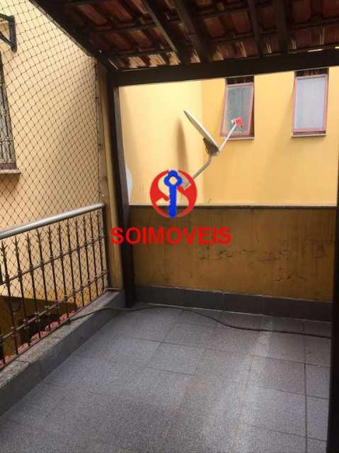 Varanda - Casa 5 quartos à venda Cachambi, Rio de Janeiro - R$ 850.000 - TJCA50007 - 23