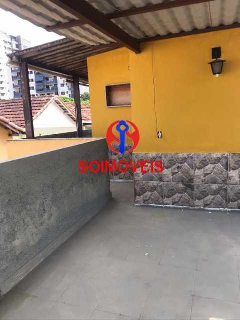 Terraço - Casa 5 quartos à venda Cachambi, Rio de Janeiro - R$ 850.000 - TJCA50007 - 25