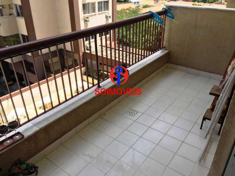 var - Apartamento 2 quartos à venda Lins de Vasconcelos, Rio de Janeiro - R$ 280.000 - TJAP20870 - 1