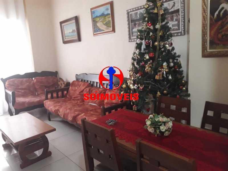 SALA - Apartamento 2 quartos à venda Grajaú, Rio de Janeiro - R$ 380.000 - TJAP21143 - 4