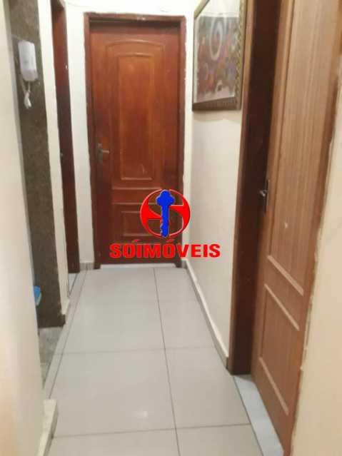 ENTRADA - Apartamento 2 quartos à venda Grajaú, Rio de Janeiro - R$ 380.000 - TJAP21143 - 1