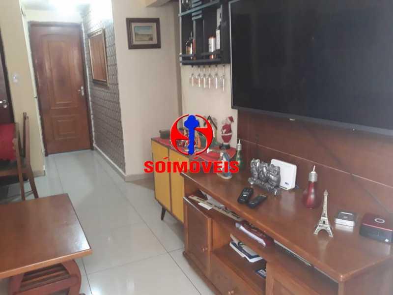 SALA - Apartamento 2 quartos à venda Grajaú, Rio de Janeiro - R$ 380.000 - TJAP21143 - 5