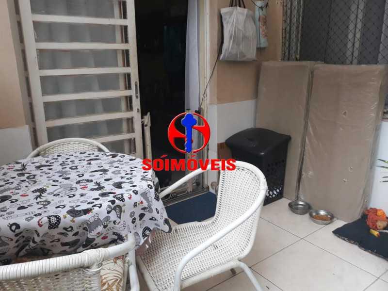 ÁREA EXTERNA - Apartamento 2 quartos à venda Grajaú, Rio de Janeiro - R$ 380.000 - TJAP21143 - 20