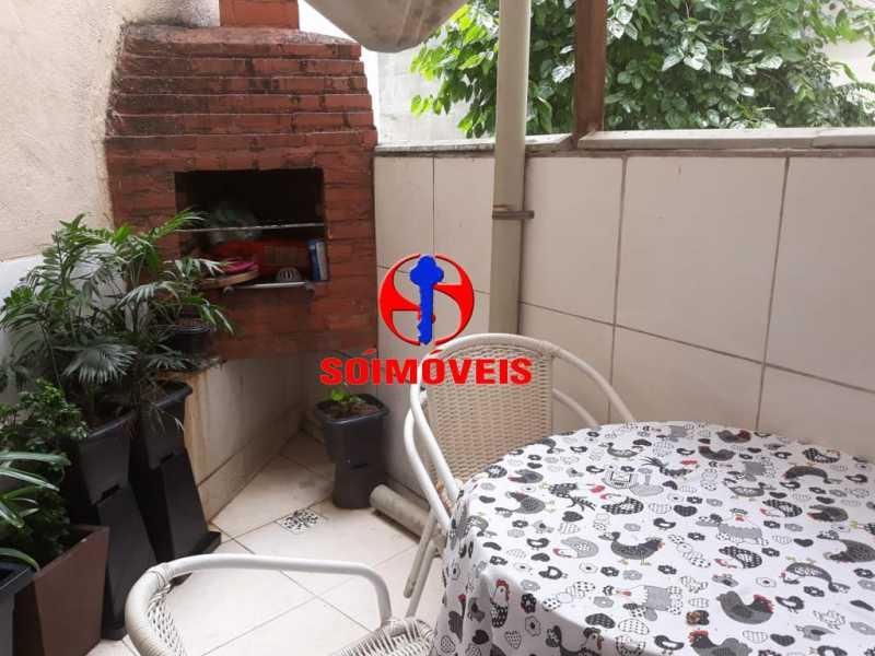 ÁREA EXTERNA - Apartamento 2 quartos à venda Grajaú, Rio de Janeiro - R$ 380.000 - TJAP21143 - 19