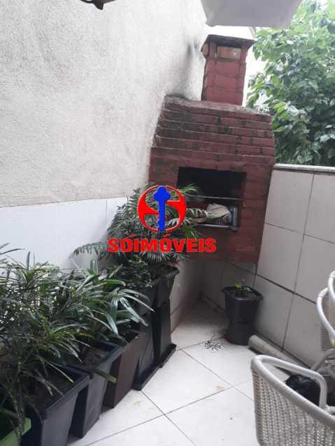 ÁREA EXTERNA - Apartamento 2 quartos à venda Grajaú, Rio de Janeiro - R$ 380.000 - TJAP21143 - 18