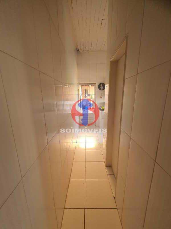 CORREDOR COZINHA ÁREA - Apartamento 2 quartos à venda Vila Isabel, Rio de Janeiro - R$ 340.000 - TJAP20891 - 10