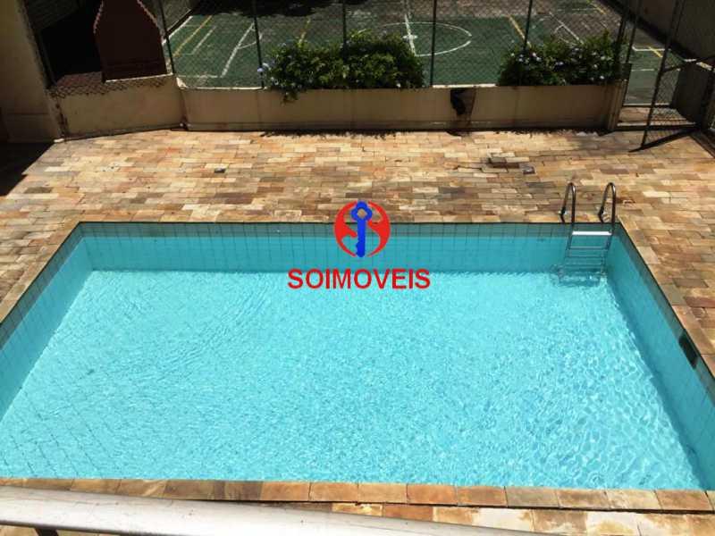 pisc - Apartamento 2 quartos à venda Riachuelo, Rio de Janeiro - R$ 210.000 - TJAP20896 - 17