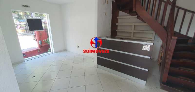 1º ANDA SALÃO - Casa 3 quartos à venda Tijuca, Rio de Janeiro - R$ 780.000 - TJCA30043 - 13