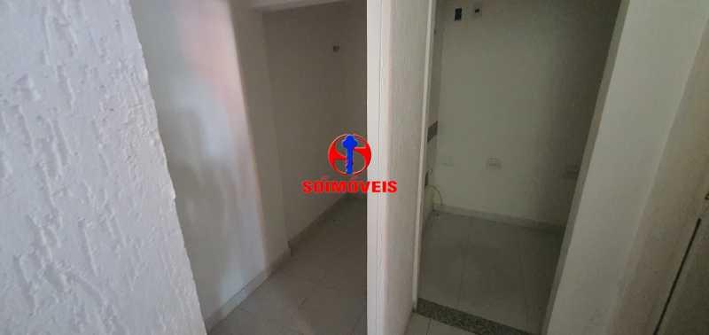 QUARTO - Casa 3 quartos à venda Tijuca, Rio de Janeiro - R$ 780.000 - TJCA30043 - 18