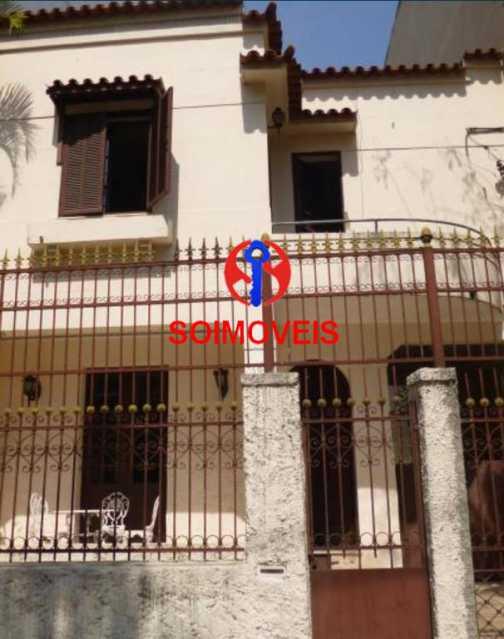 0-fac - Casa 3 quartos à venda Grajaú, Rio de Janeiro - R$ 700.000 - TJCA30044 - 1