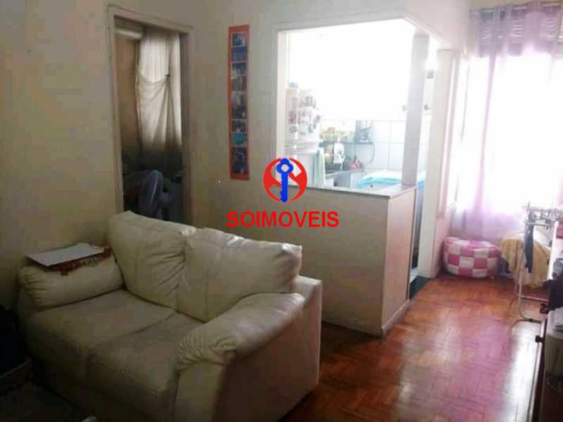 sl - Apartamento 1 quarto à venda Tijuca, Rio de Janeiro - R$ 265.000 - TJAP10230 - 1