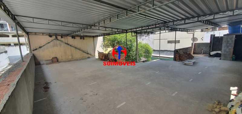 TERRAÇO - Casa de Vila 3 quartos à venda Riachuelo, Rio de Janeiro - R$ 430.000 - TJCV30046 - 24