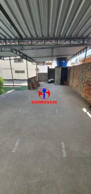 TERRAÇO - Casa de Vila 3 quartos à venda Riachuelo, Rio de Janeiro - R$ 430.000 - TJCV30046 - 23