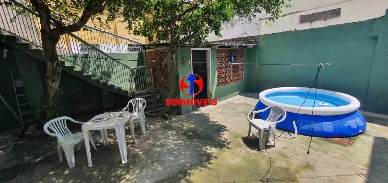 ÁREA - Casa de Vila 3 quartos à venda Riachuelo, Rio de Janeiro - R$ 430.000 - TJCV30046 - 27