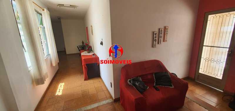 SALA - Casa de Vila 3 quartos à venda Riachuelo, Rio de Janeiro - R$ 430.000 - TJCV30046 - 5