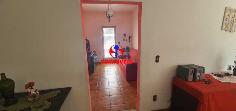 ACESSO A SALA E QUARTOS - Casa de Vila 3 quartos à venda Riachuelo, Rio de Janeiro - R$ 430.000 - TJCV30046 - 6