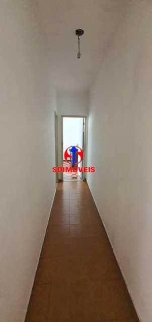CORREDOR - Casa de Vila 3 quartos à venda Riachuelo, Rio de Janeiro - R$ 430.000 - TJCV30046 - 16