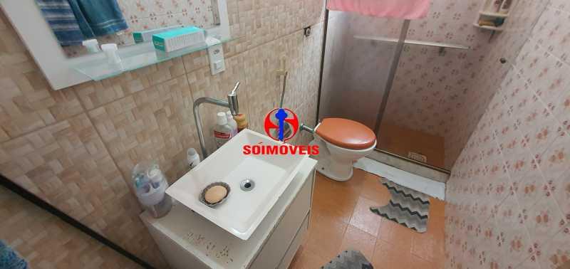 BANHEIRO SOCIAL - Casa de Vila 3 quartos à venda Riachuelo, Rio de Janeiro - R$ 430.000 - TJCV30046 - 21