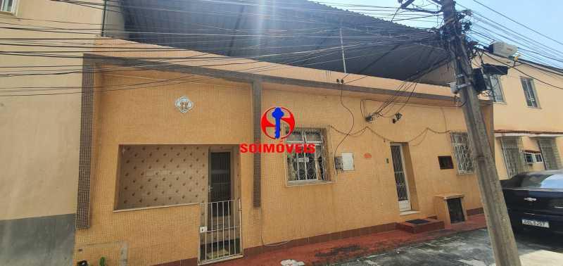 FRENTE DA CASA - Casa de Vila 3 quartos à venda Riachuelo, Rio de Janeiro - R$ 430.000 - TJCV30046 - 1