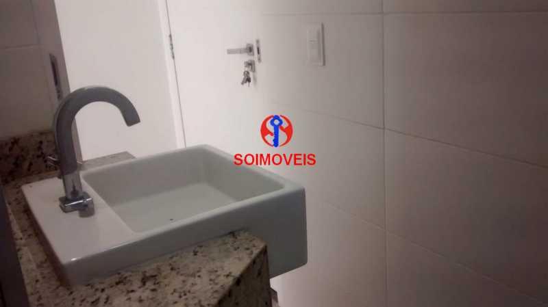 BANHEIRO SOCIAL - Kitnet/Conjugado 30m² à venda Centro, Rio de Janeiro - R$ 260.000 - TJKI00049 - 15